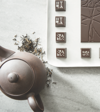 Tea and Chocolate Gourmet Combinations