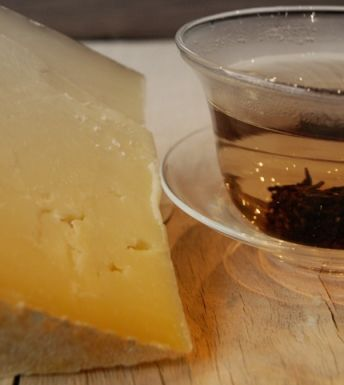 Tea and Cheese Gourmet Combinations